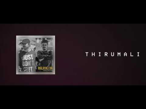 ThirumaLi - Malayali Da (Karaoke Lyrics Instrumental) | Arcado | Malayalam Rap