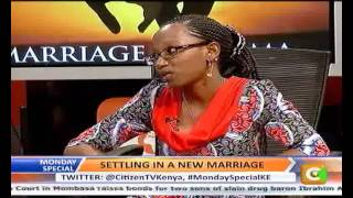 Monday Special: Settling in a New Marriage