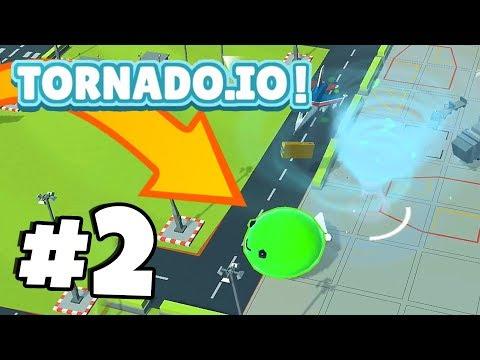 EVIL SLIME BOSS *IMPOSSIBLE* TO KILL!?   TORNADO.IO!   Tornado.io Gameplay Part 2