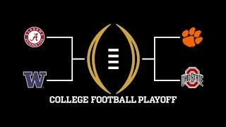 Washington Over Bama? ? College Football Bowl Predictions With Sports Talk With Dylan Marsh