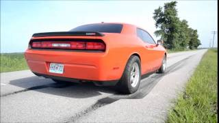 2008 Challenger SRT8 Twin Turbo Testing!!