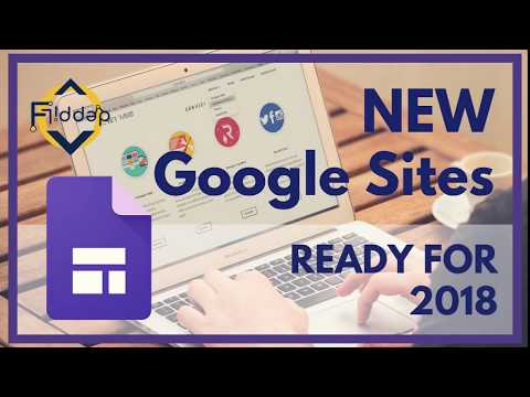 Get ready for 2018 with Updates to NEW Google Sites!