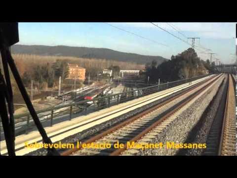 En cabina: Barcelona-Girona-Figueres