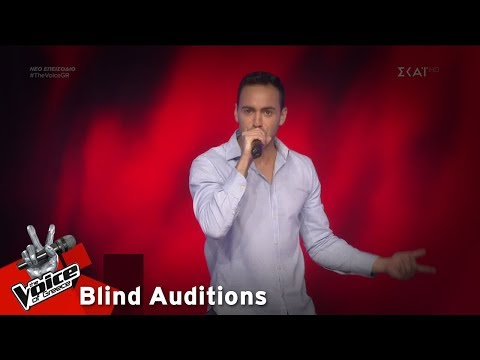 Louis Παναγιώτου – Walking On Sunshine | 8o Blind Audition | The Voice of Greece