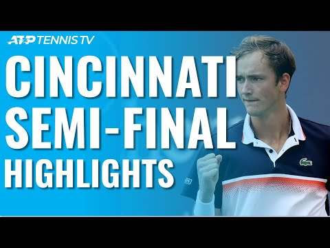 Medvedev Surges Past Djokovic; Goffin Hits Milestone | Cincinnati 2019 Semi-Final Highlights