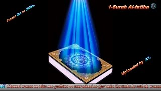 Amazing recitation of 44 surahs of the holy Qur'an.