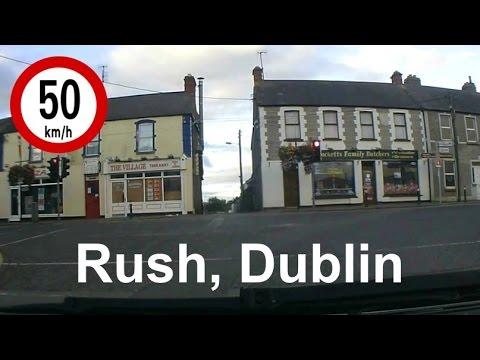 Dash Cam Ireland - Skerries Road and Rush Town, Dublin