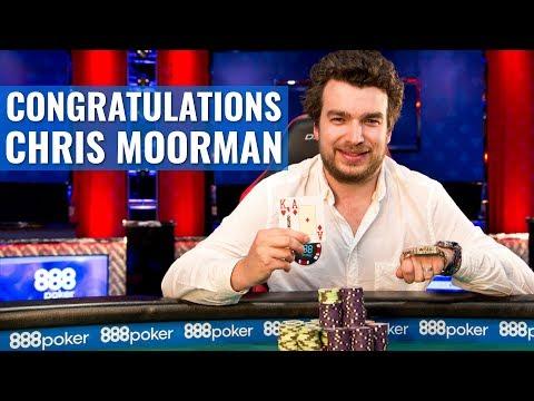 888poker Congratulates WSOP Bracelet Winner Chris Moorman