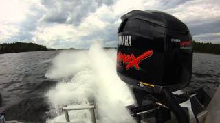 видео Лодочный мотор Ямаха 250