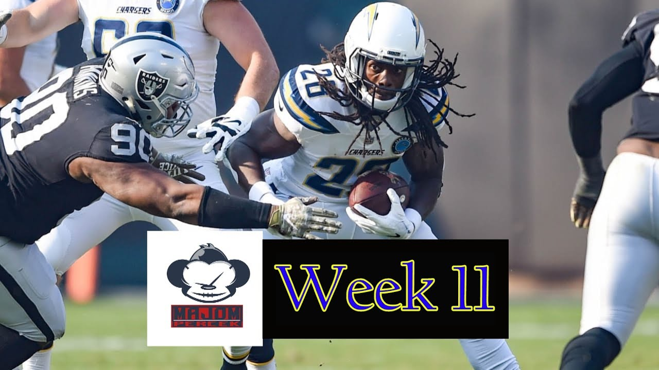NFL Fogadás - 11. hét