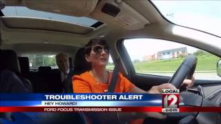 troubleshooter consumer alert ford focus transmission issue