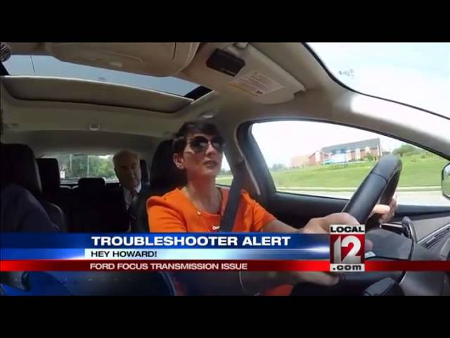 Troubleshooter Consumer Alert Ford Focus Transmission Issue Youtube