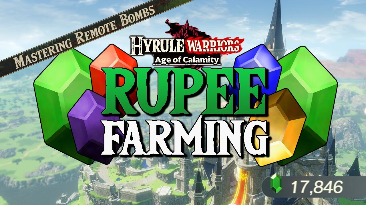Fastest Way To Farm Rupees Hyrule Warriors Age Of Calamity Demo Youtube