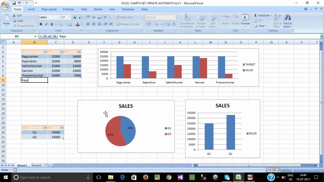 to create chart in ms excel Did you know that you can put as many charts as you can fit on a chart sheet in microsoft excel place multiple charts on a chart sheet in excel.