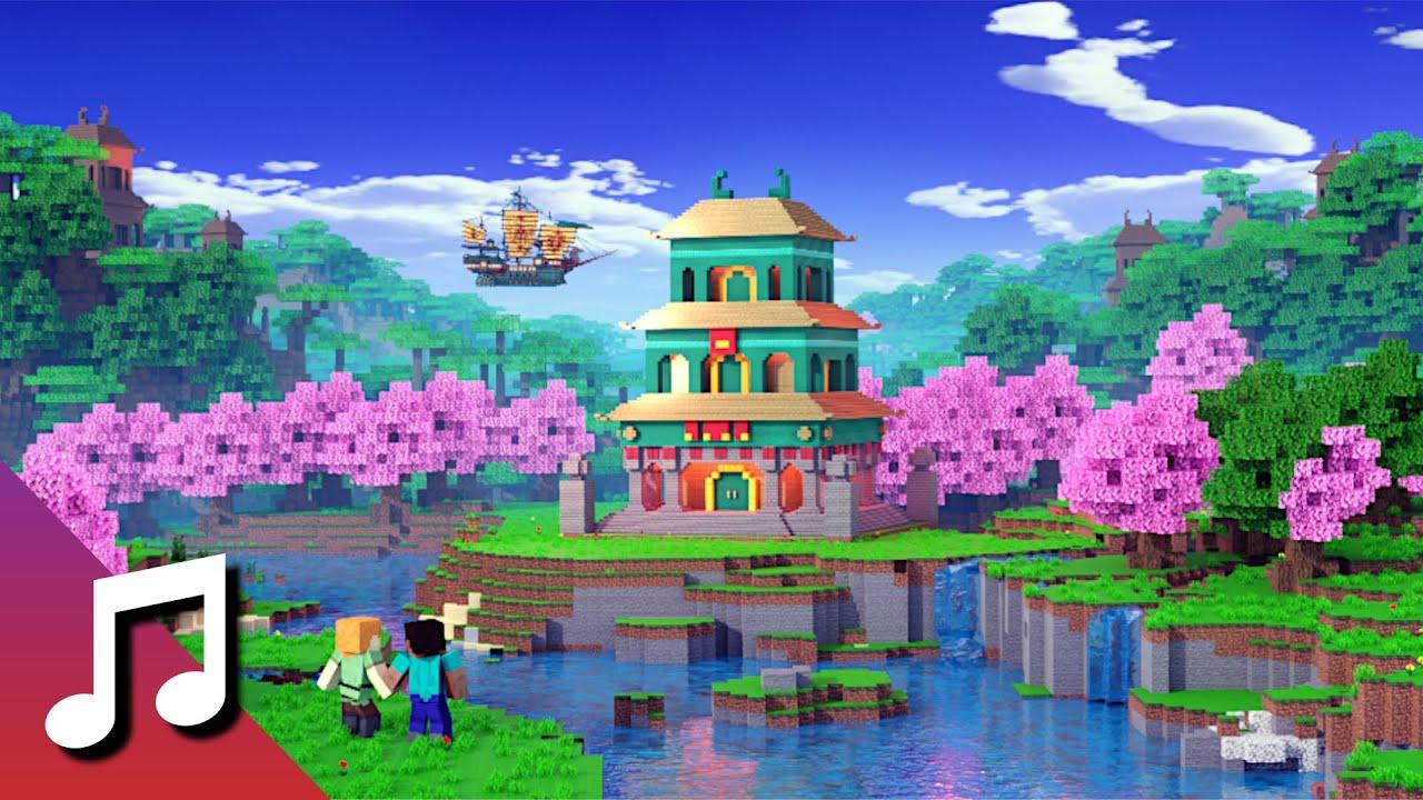 ♪ TheFatRat - Arcadia (Minecraft Animation) [Music Video]