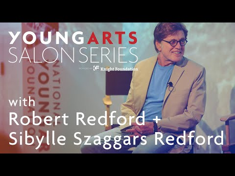 YoungArts Salon with Robert Redford + Sibylle Szaggars Redford