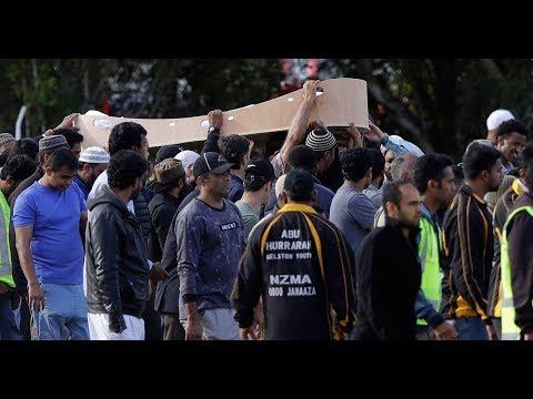 TRAUER IN NEUSEELAND: Beisetzungen der Attentatsopfer in Christchurch beginnen