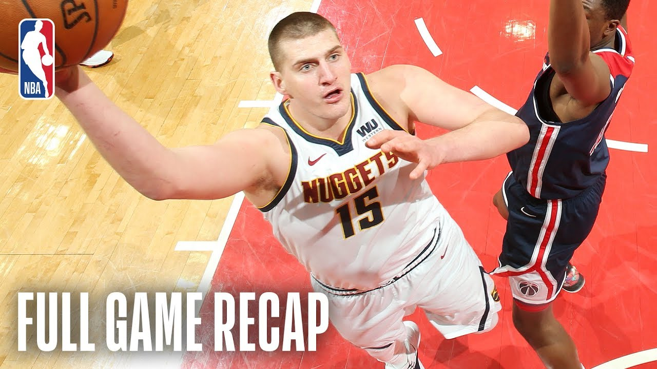 NUGGETS vs WIZARDS | 8 Nuggets Score In Double-Figures  | March 21, 2019