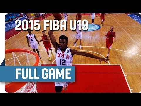 USA v Egypt - Group A - Full Game - 2015 FIBA U19 World Championship