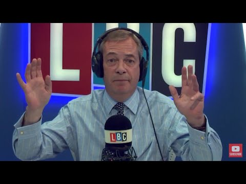 The Nigel Farage Show: Is Trump right to crackdown on immigration?  LBC - 1st November 2017