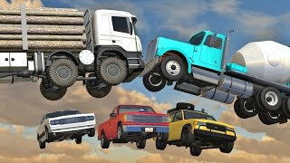 BeamNG Drive - BEST OF INSANE CRASHES 10,000 Subscriber Special