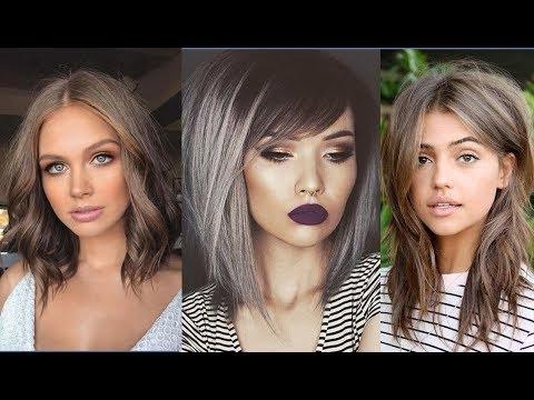 Mushroom Brown Hair Is Trending for 2018\/Women Hair Fashion  YouTube