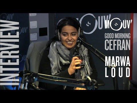 """MARWA LOUD : """"On pourrait être copines avec Cardi B"""" #MORNINGCEFRAN"""