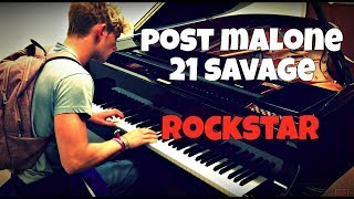 Baixar Post Malone - Rockstar ft. 21 Savage | Tishler Piano Cover