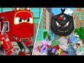 SuperCar Baby Rikki and Kids Stand against the Plastic use & Pollution | Car Cartoon