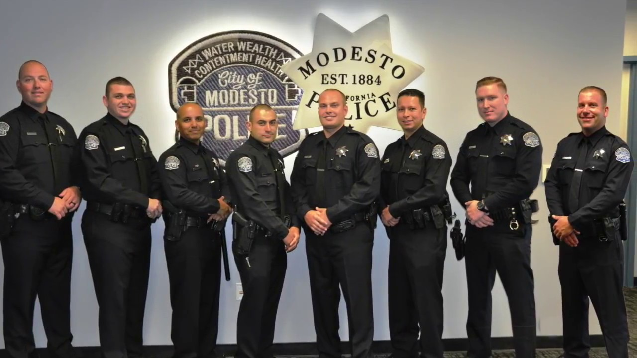 Modesto Police Department Lateral Video