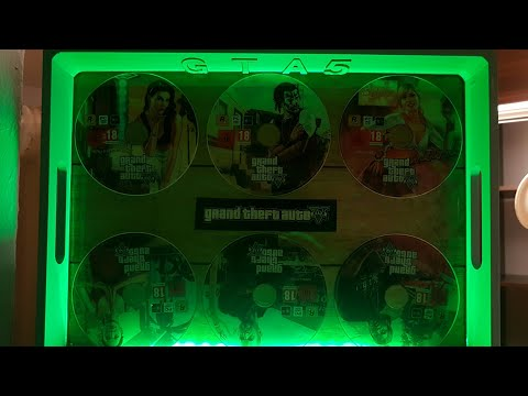 GTA 5 commemorative board epoxy resin processed