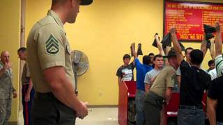 Marine Recruits Arrive at MCRD thumbnail