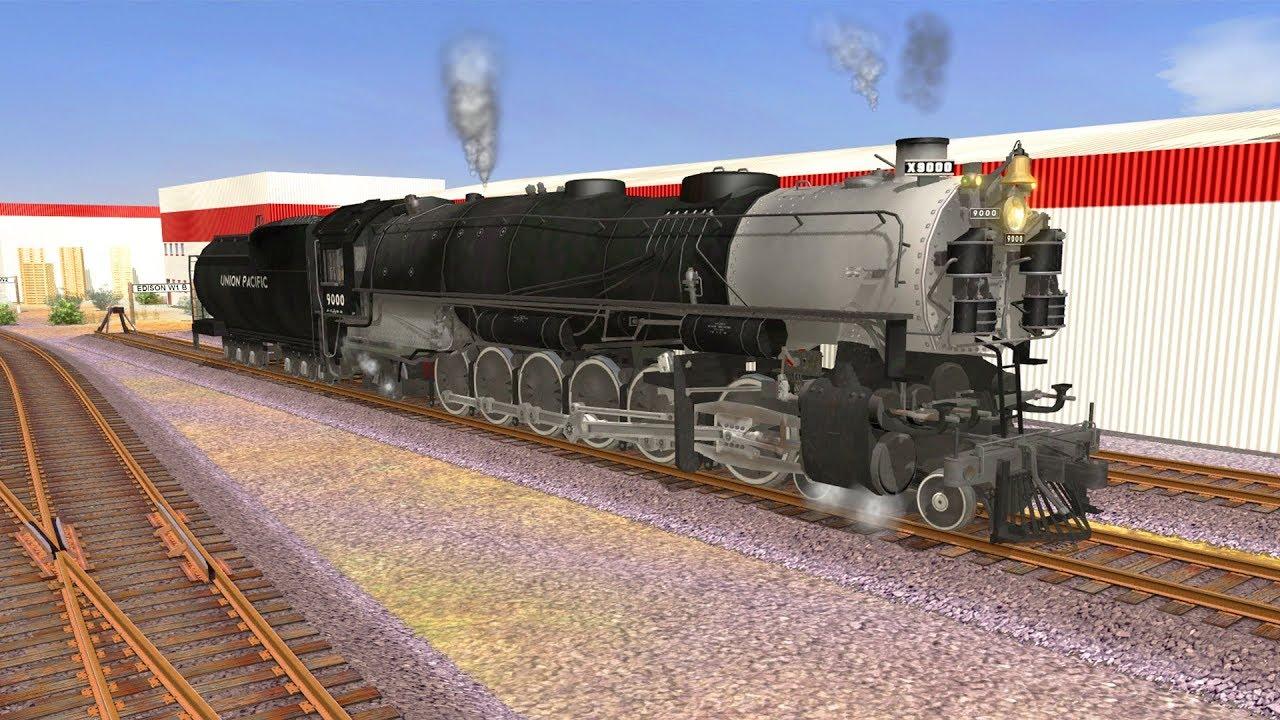 Trainz A New Era [ ??? Add-On ] - UP 9000 4-12-2 (FreeWare)