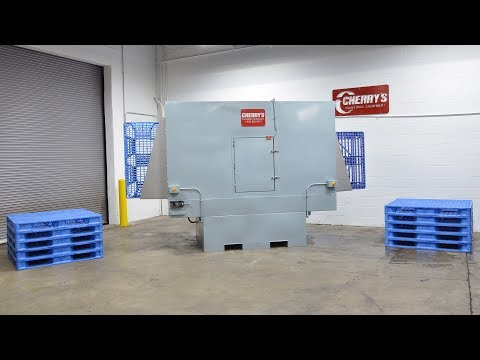 Automatic Multi-Stage Pallet Washer