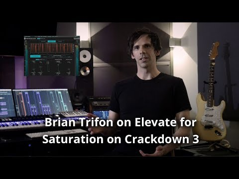 Brian Trifon using Elevate for Loud & Punchy Sounds on Crackdown 3