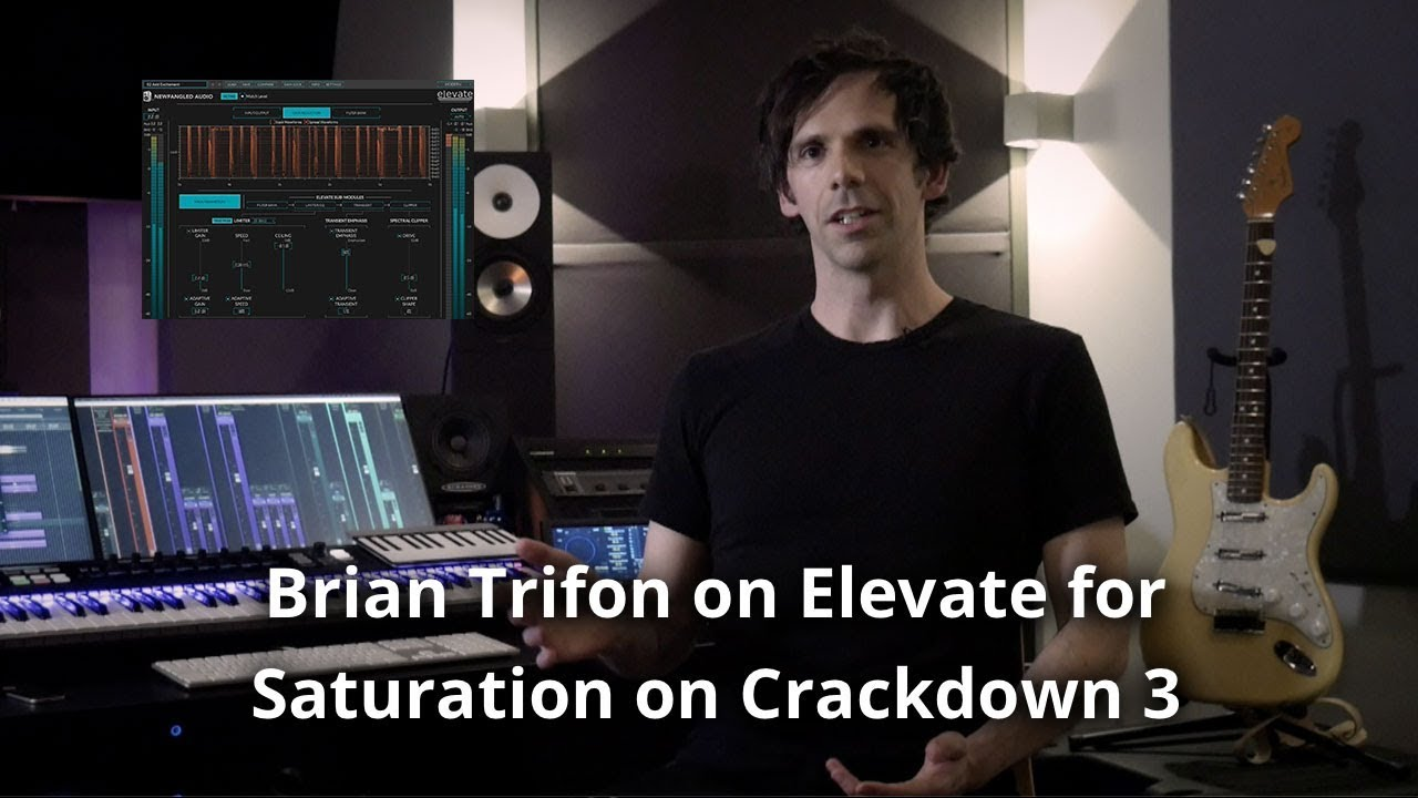 Crackdown 3 Video Game Sound Designer Brian Trifon using Elevate for Mastering