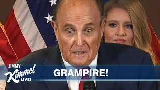 Trump & Giuliani's Vomitous Attack on Democracy