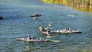 2017 Fall Regionals Highlight Reel - RC Warship Combat