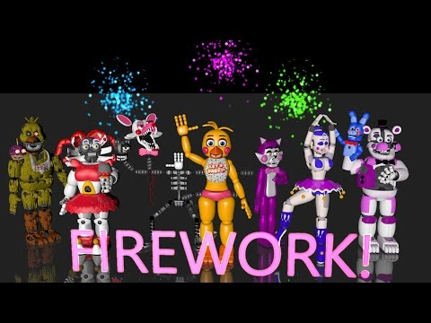 FNAF Animation - FIREWORK Song By Katy Perry (NEW YEAR SPECIAL!!!)