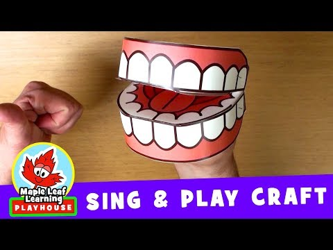 Brush Your Teeth | Sing and Play Craft | Maple Leaf Learning Playhouse