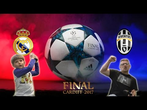 Real MADRIT vs JUVENTUS UEFA Champions League FINAL in Cardiff FIFA 17 - Xbox One Family Game FUN