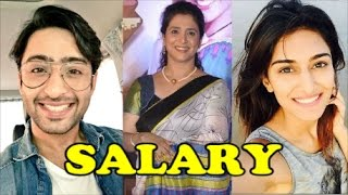 Per Day Salary of Kuch Rang Pyar Ke Aise Bhi Actors