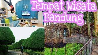 15 Tempat Wisata Bandung HITS Terbaru 2018 || Murah Terpopuler