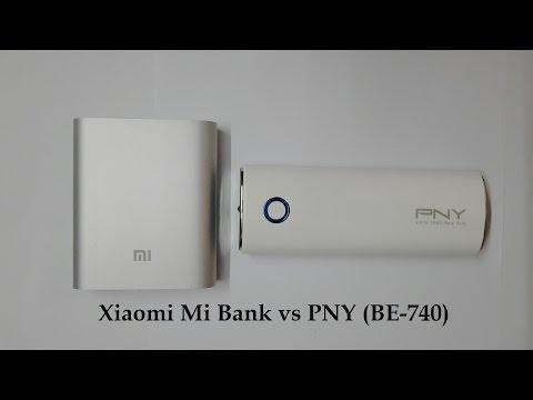 Xiaomi Mi Bank 10400mah vs PNY BE 740 10400mah Review
