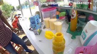 ES ICE JUICE DAN PUPPIS MILK || NGABIBITA || Indonesia Subang Street Food