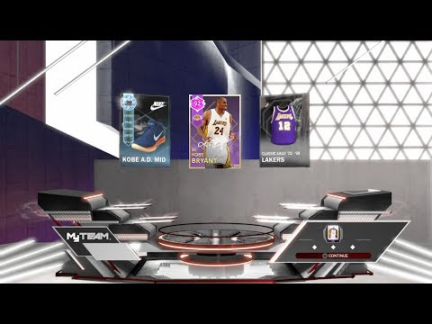Kobe Christmas Pack Opening Reward (NBA 2K18: MyTeam)
