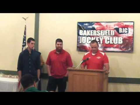 Centennial High School Football - Bakersfield Jockey Club Awards Dec 7 2015
