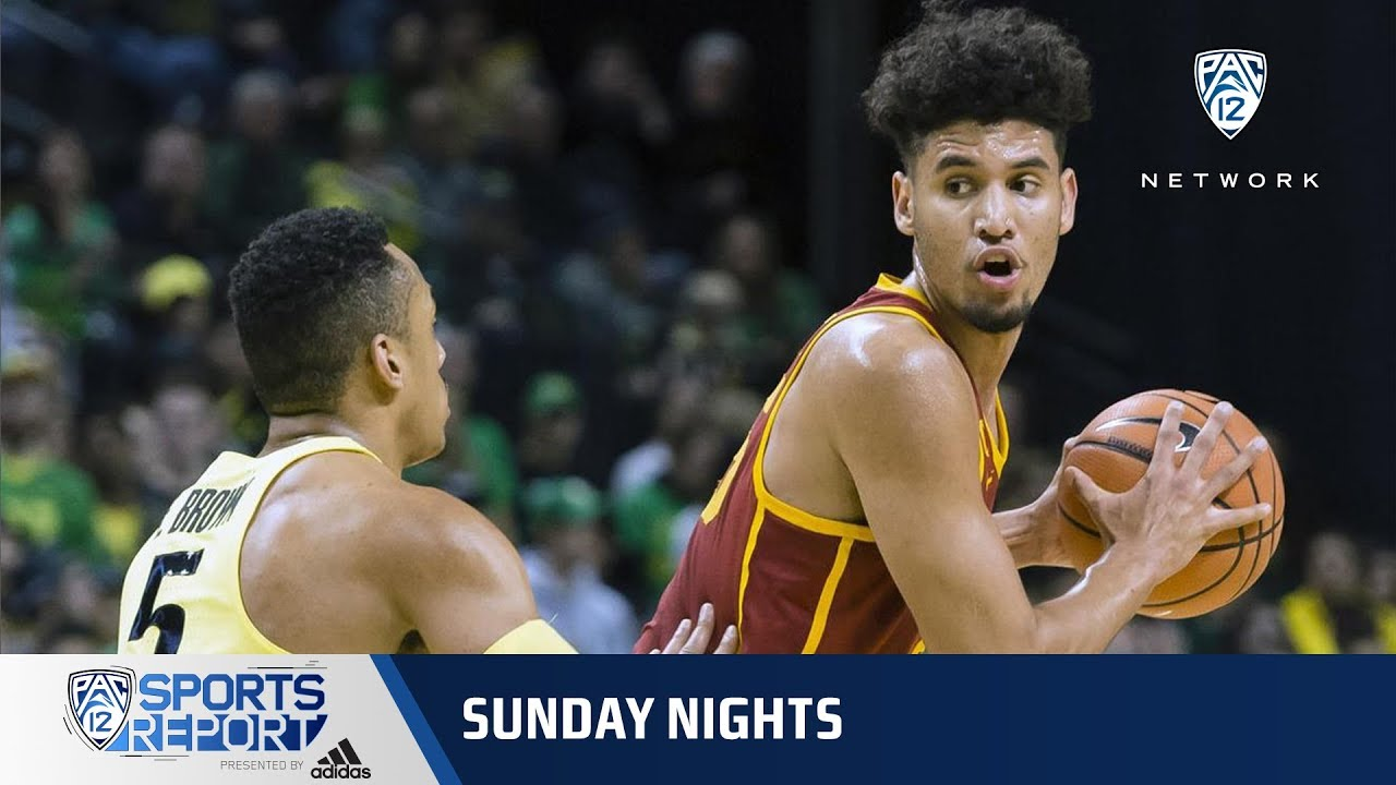 Highlights USC Mens Basketball Edges Oregon In Eugene For First Time Since 2009