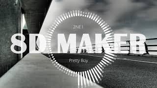 투애니원 2NE1  Pretty Boy 8D TUNES  USE HEADPHONES