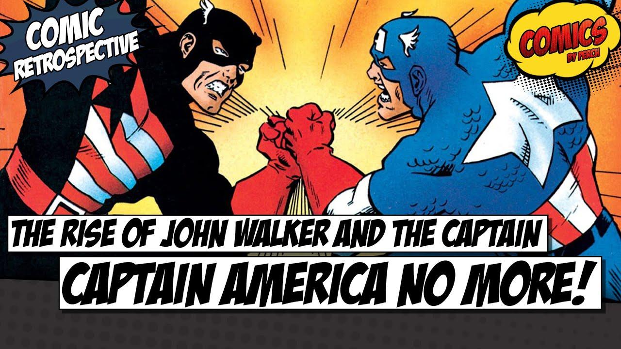 Captain America No More Comic Retrospective Youtube